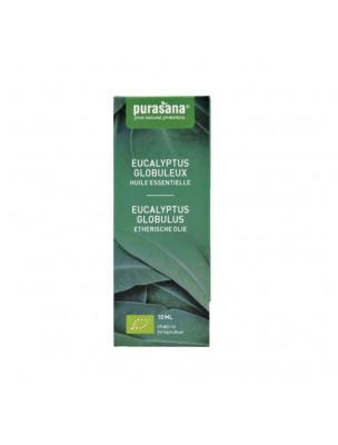 Eucalyptus globuleux Bio - Huile essentielle d'Eucalyptus globulus Labill. 10 ml - Purasana