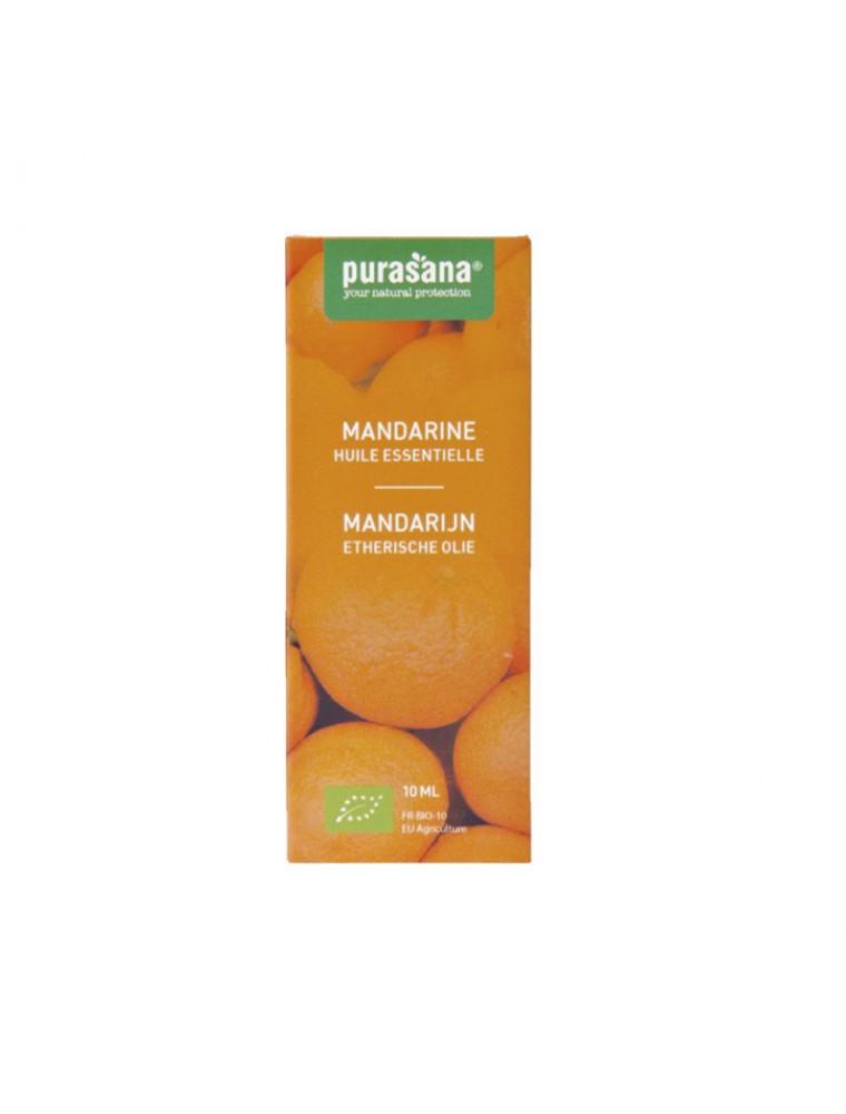 Mandarine Bio - Huile essentielle de Citrus reticulata 10 ml - Purasana