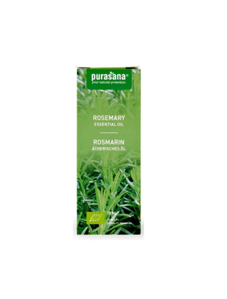 Romarin Bio - Huile essentielle de Rosmarinus officinalis L. 10 ml - Purasana