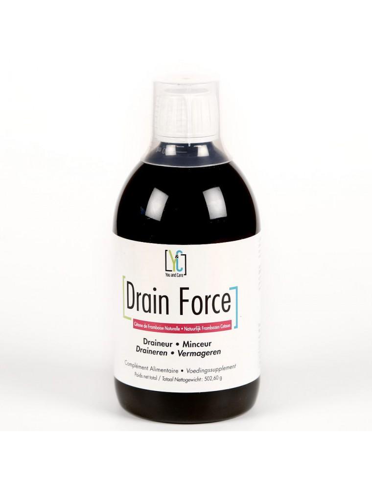 Drain Force - Minceur et Draineur 500 ml - Youandcare