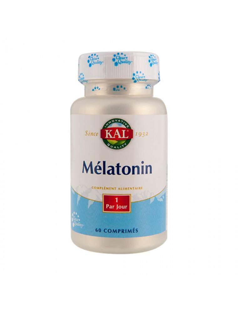 Mélatonine 1 mg - Sommeil 60 comprimés - KAL