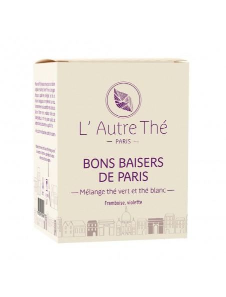 Bons Baisers de Paris Bio - Thé vert framboise & violette 20 sachets pyramide - L'Autre thé