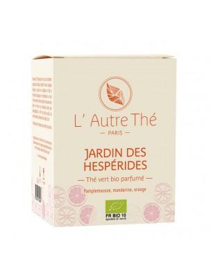 Jardin des Hespérides Bio - Thé vert Agrumes 20 sachets pyramide - L'Autre thé