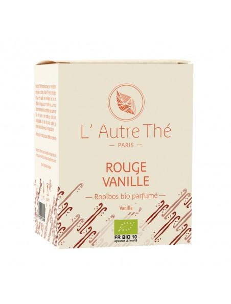 Rouge Vanille Bio - Rooïbos à la vanille 20 sachets pyramide - L'Autre thé