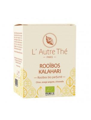 Kalahari Bio - Rooïbos à l'orange sanguine et au citron 20 sachets pyramide - L'Autre thé