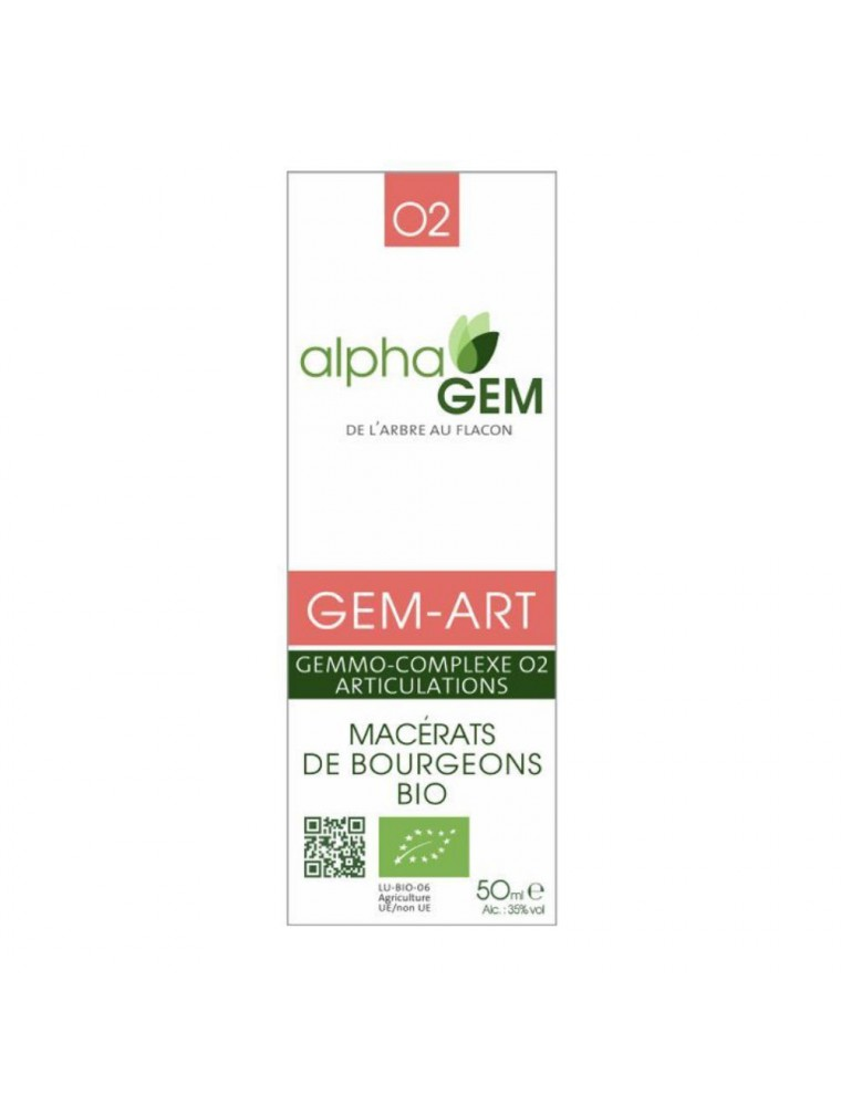 Gem-Art Complexe n°02 Bio - Articulations 50 ml - Alphagem