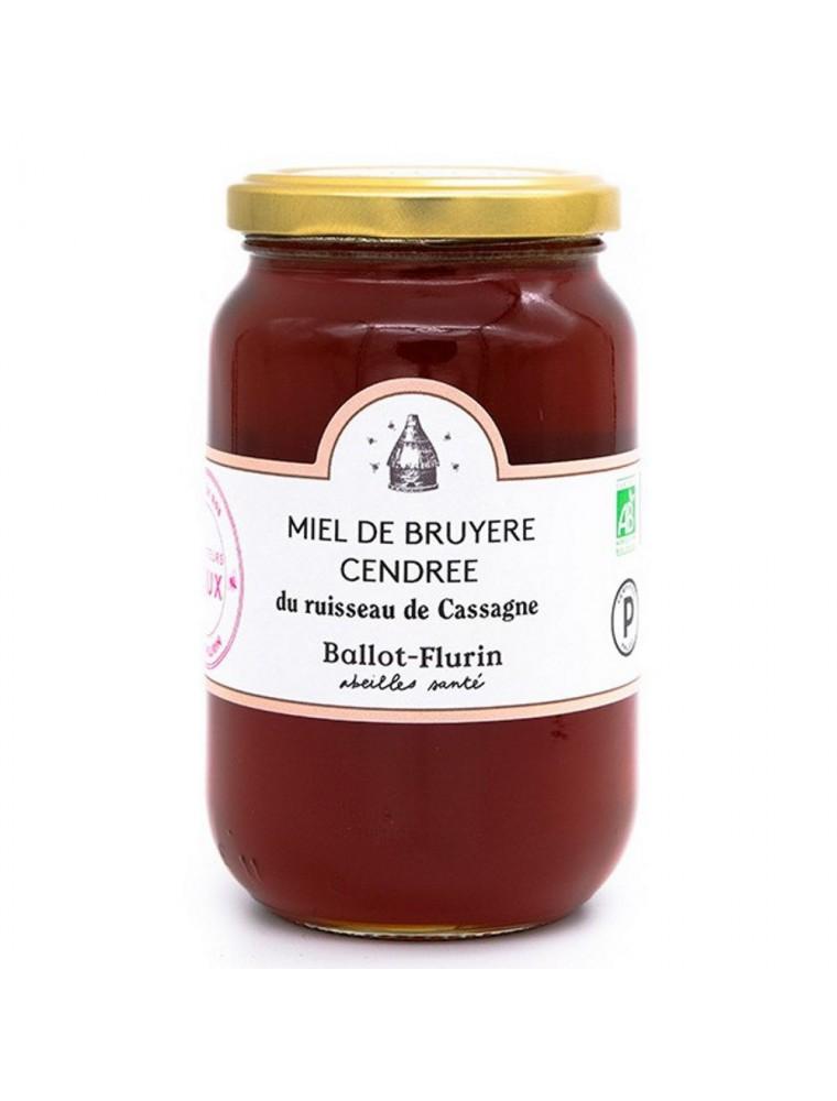 Miel de Bruyère Cendrée Bio 480g - Force et délicatesse - Ballot-Flurin