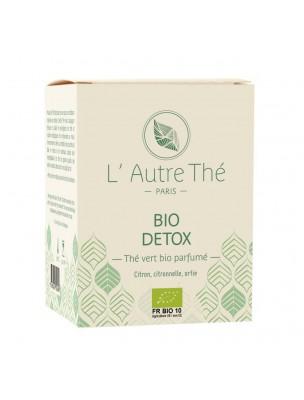 Détox Bio - Thé vert au citron, à la citronnelle et à l'ortie 20 sachets pyramide - L'Autre thé