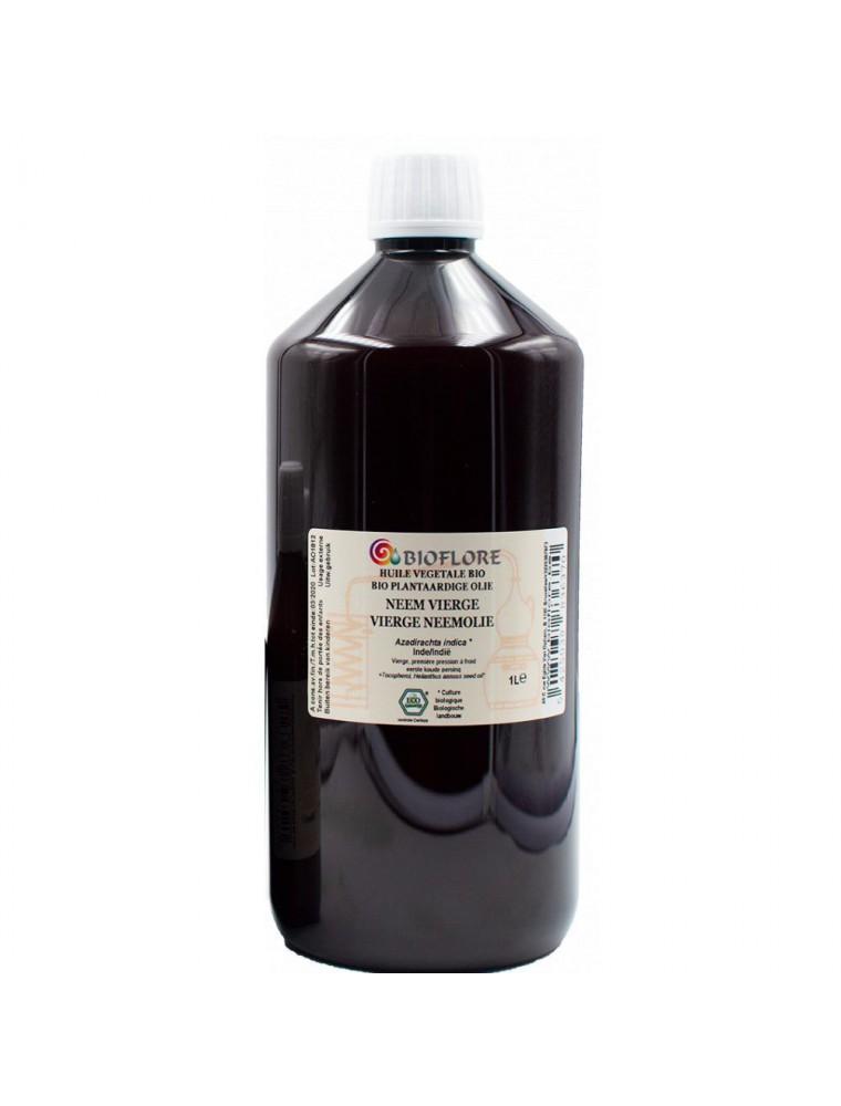 Neem (Margousier) Bio - Huile végétale Azadirachta indica 1000 ml - Bioflore