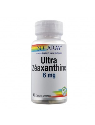 Ultra Zéaxanthine 6 mg - Vue 30 capsules végétales - Solaray