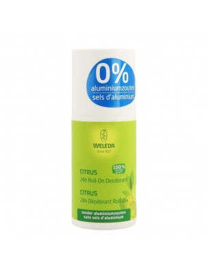 Déodorant Citrus en Roll-On - Naturellement frais 50 ml - Weleda
