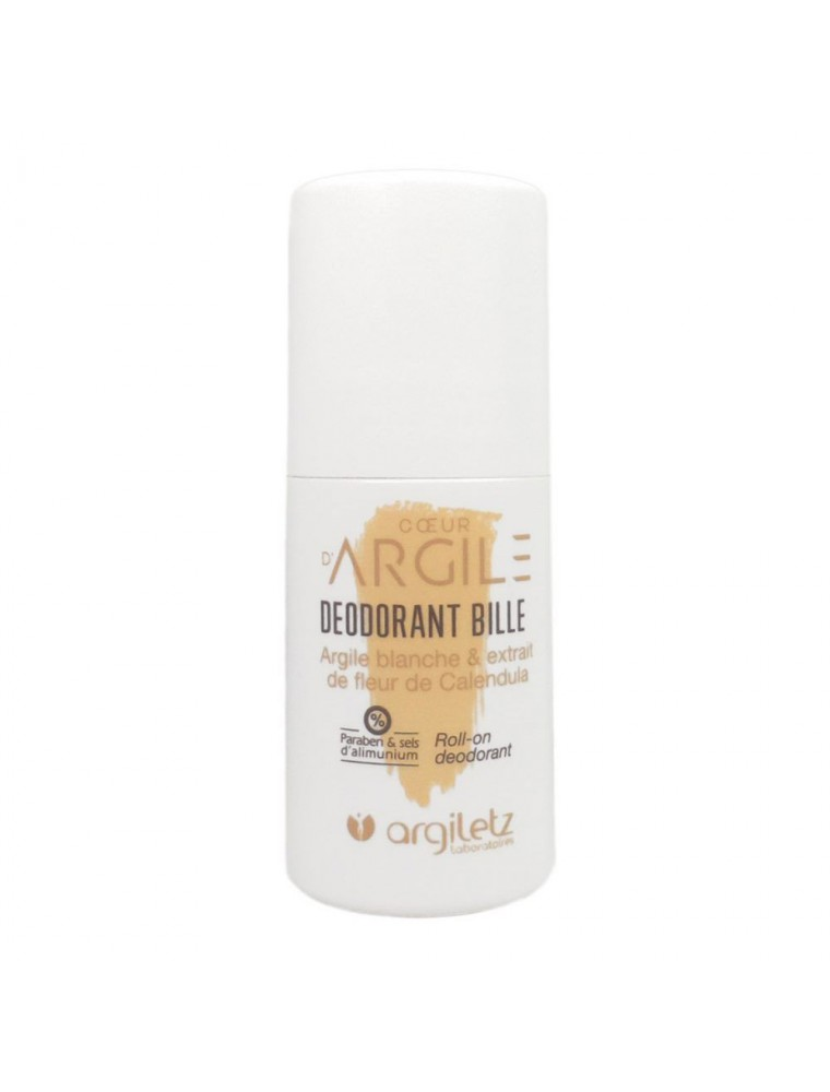 Cœur d'Argile - Roll-on déodorant 50 ml - Argiletz
