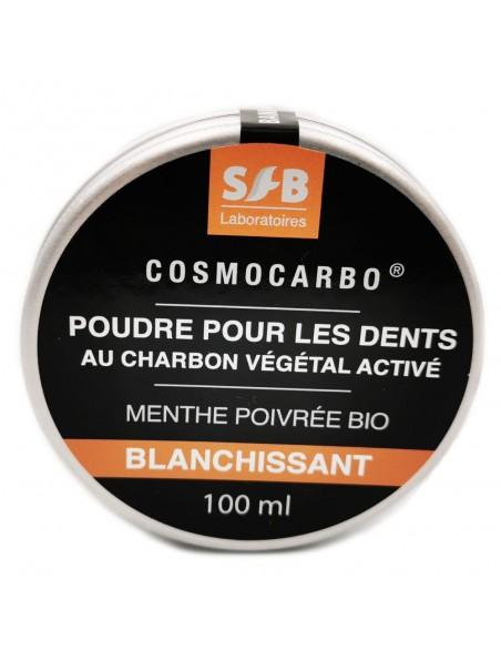 Cosmocarbo - Poudre blanchissante pour les dents 100 ml - SFB Laboratoires