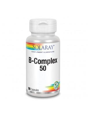 B-Complex - Vitamines 50 capsules - Solaray