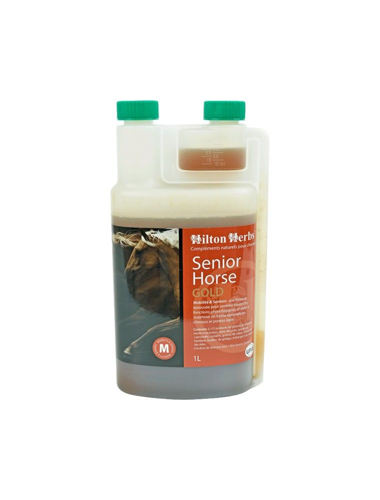 Senior Horse Gold - Cheval âgé 1 litre - Hilton Herbs