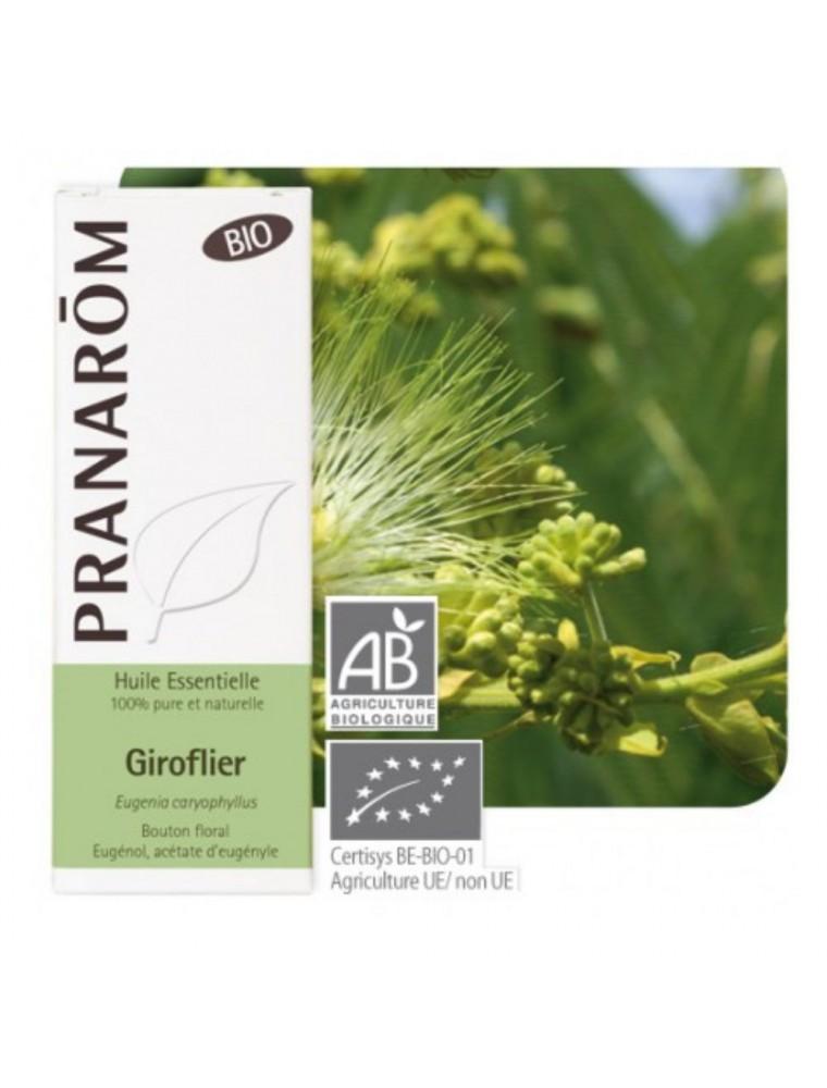 Giroflier (Clou de Girofle) Bio - Huile essentielle d'Eugenia caryophyllus 10 ml - Pranarôm