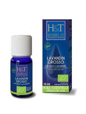 Lavandin Grosso Bio - Huile essentielle Lavandula burnati grosso 10 ml - Herbes et Traditions