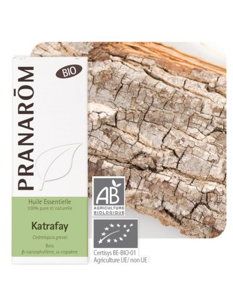 Katafray (Katrafay) Bio - Huile essentielle Cedrelopsis grevei 10 ml - Pranarôm
