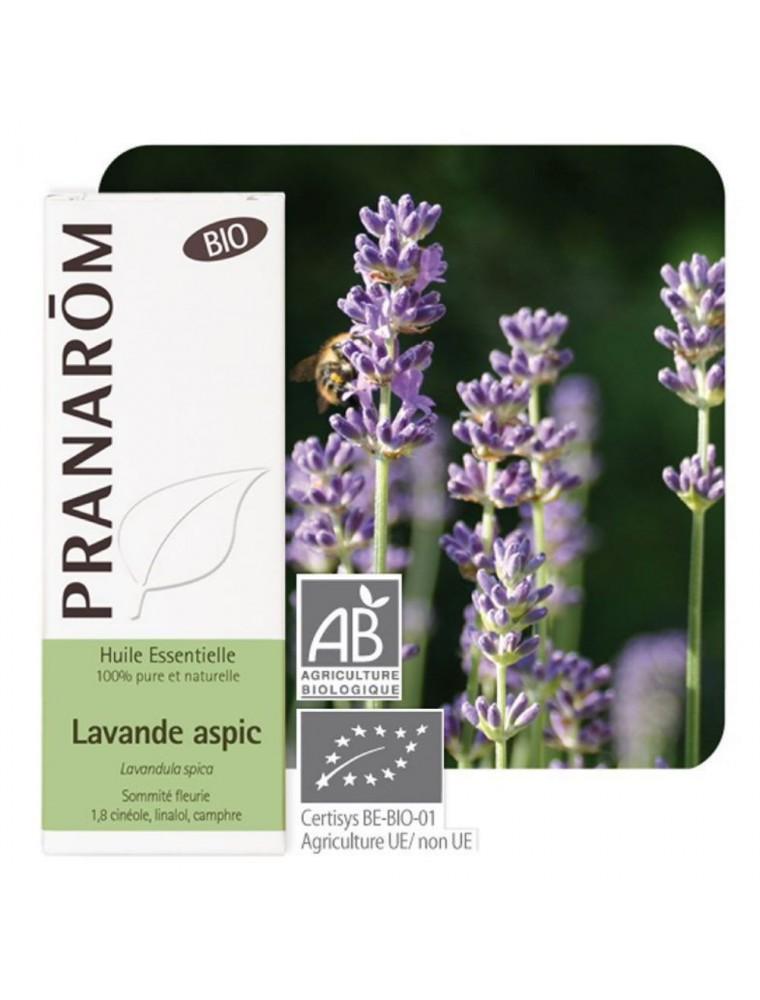 Lavande aspic Bio - Huile essentielle de Lavandula latifolia 10 ml - Pranarôm