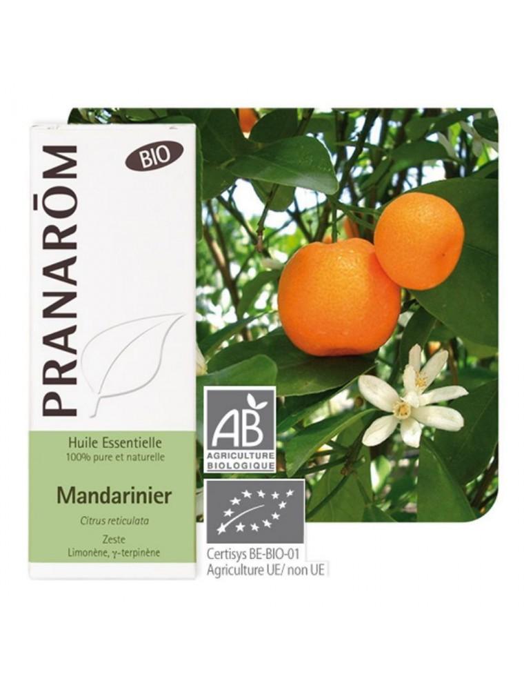 Mandarine Bio - Huile essentielle Citrus reticulata 10 ml - Pranarôm
