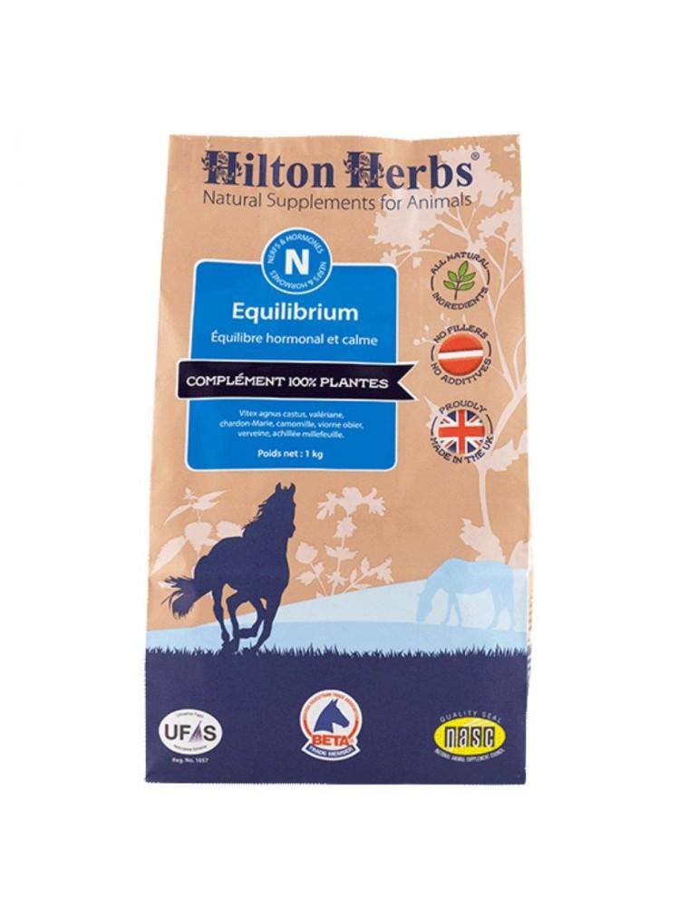 Equilibrium - Equilibre hormonal et Stress des chevaux 1kg - Hilton Herbs