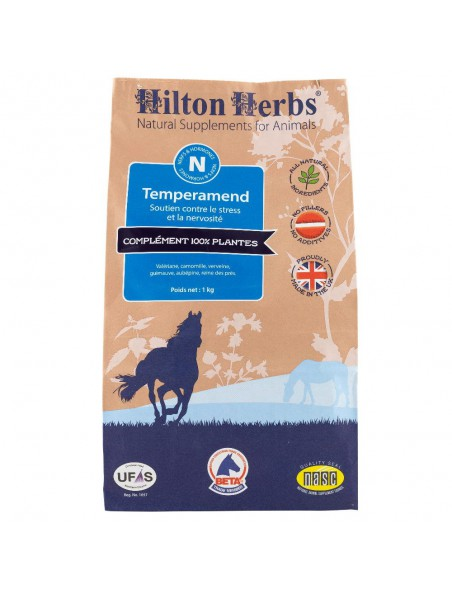Temperamend - Stress & Nervosité des chevaux 1 Kg - Hilton Herbs