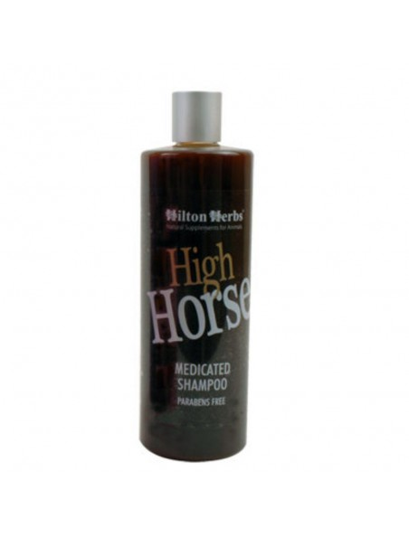 High Horse Medicated - Shampooing Chevaux 500ml - Hilton Herbs