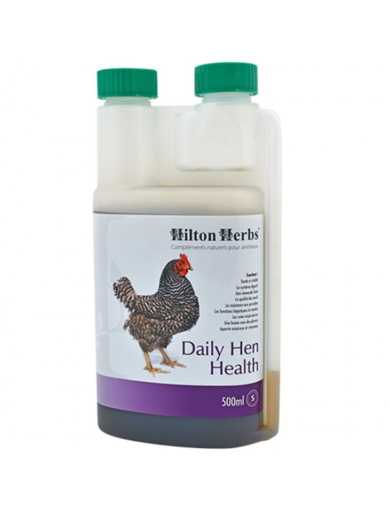 Daily Hen Health - Complément quotidien pour poules et oiseaux 500ml - Hilton Herbs