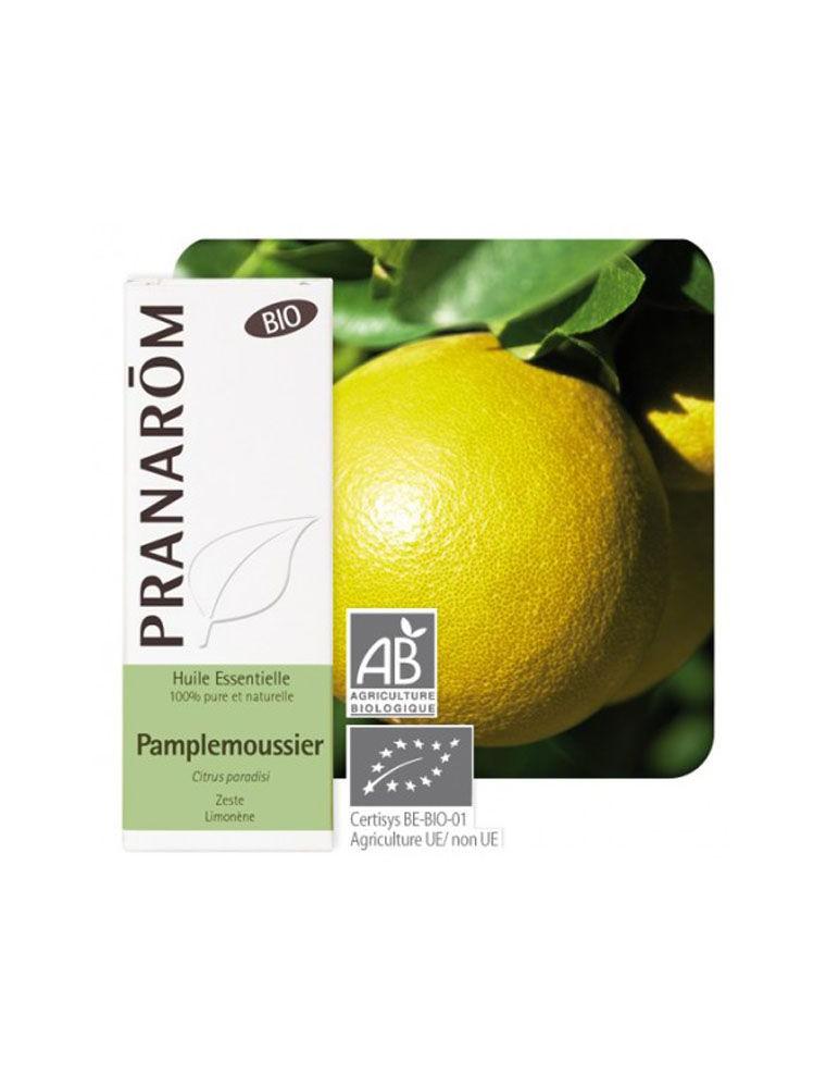 Pamplemousse Bio - Huile essentielle de Citrus paradisi 10 ml - Pranarôm