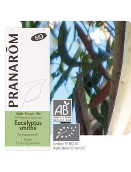 Eucalyptus smithii Bio - Huile essentielle d'Eucalyptus smithii 10 ml - Pranarôm