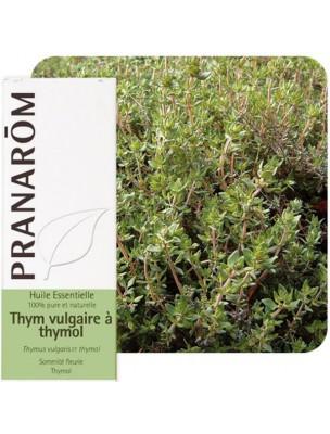 Thym à thymol - Huile essentielle de Thymus vulgaris ct thymol 10 ml - Pranarôm