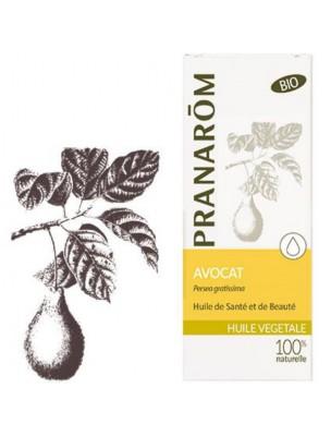 Avocat Bio - Huile végétale Persea gratissima 50 ml - Pranarôm