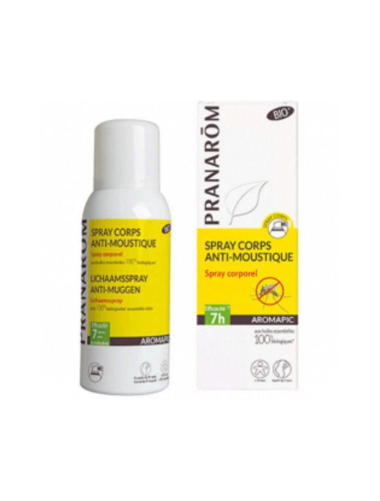 Spray Corps anti-moustiques Aromapic - Répulsif corporel Bio 100 ml - Pranarôm