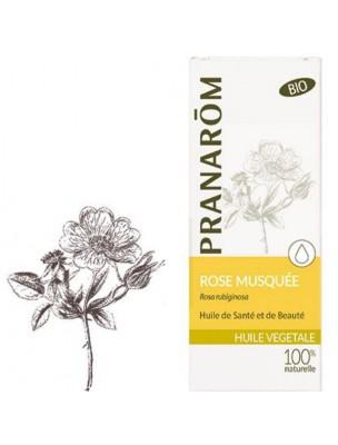 Rose musquée Bio - Huile végétale Rosa rubiginosa 50 ml - Pranarôm