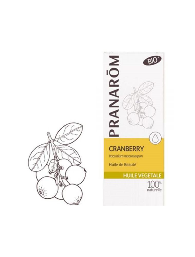 Cranberry Bio - Huile végétale Vaccinium macrocarpon 50 ml - Pranarôm