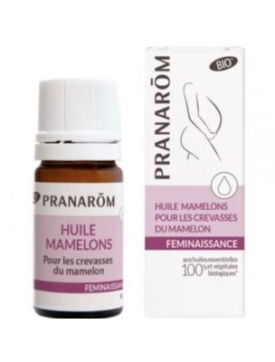 Crevasses mamelon – Huile essentielle 5 ml – Pranarôm