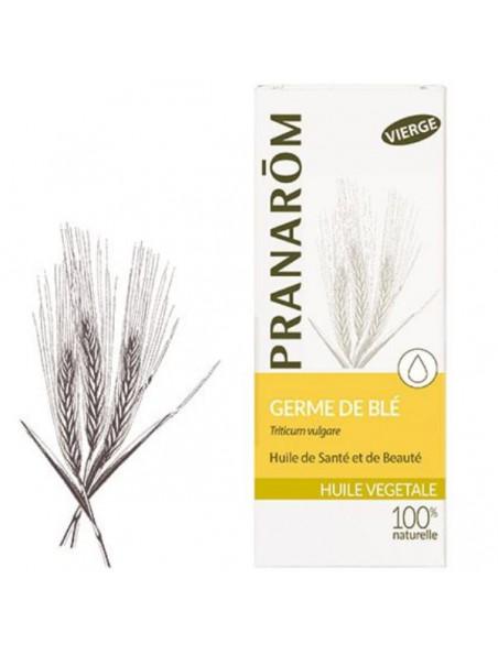 Germe de blé Bio - Huile végétale Triticum vulgare 50 ml - Pranarôm