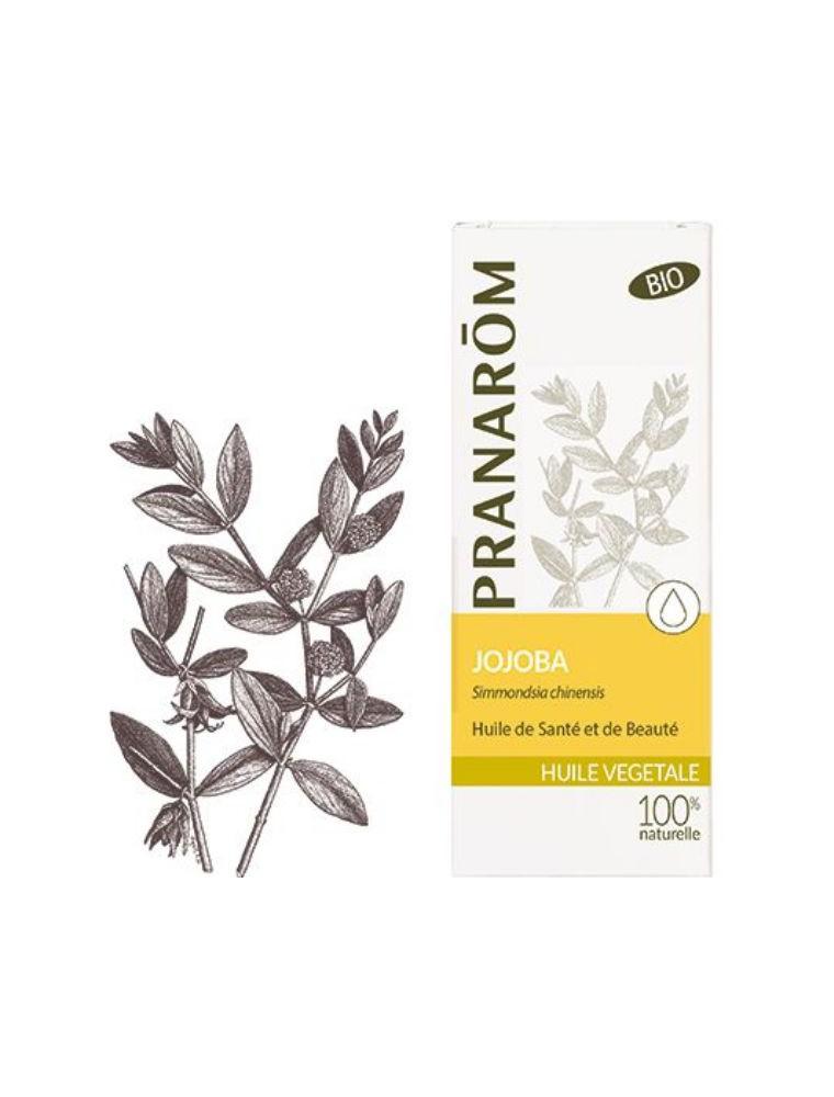 Jojoba Bio - Huile végétale Simmondsia chinensis 50 ml - Pranarôm