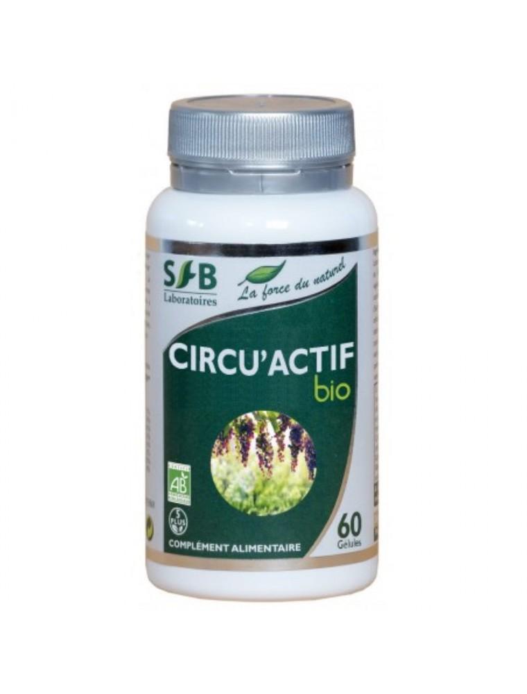 Circu'Actif Bio  - Circulation 60 gélules - SFB Laboratoires
