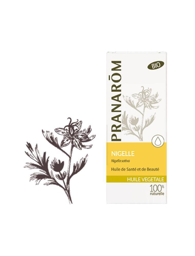 Nigelle Bio - Huile végétale Nigella sativa 50 ml - Pranarôm