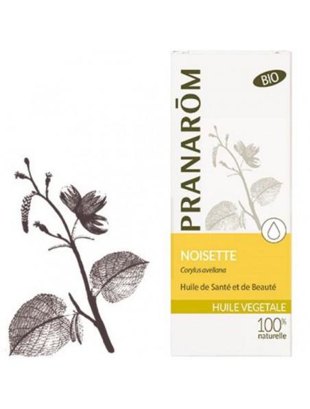 Noisette Bio - Huile végétale Corylus avellana 50 ml - Pranarôm