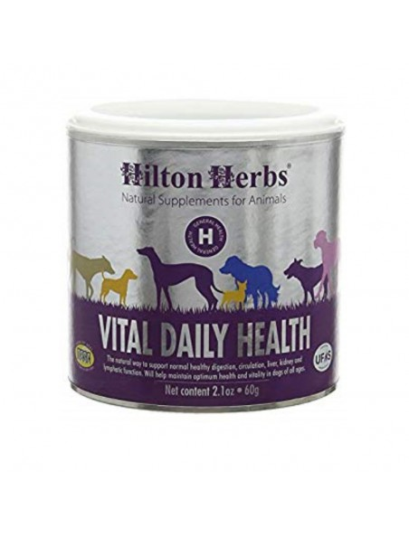 Vital Daily Health - Santé optimale du chien 60g - Hilton Herbs