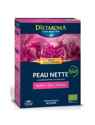 C.I.P. Peau Nette Bio - Peau 20 ampoules - Dietaroma