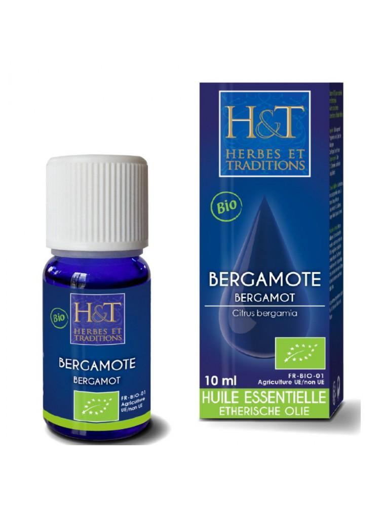 Bergamote Bio - Huile essentielle de Citrus Bergamia 10 ml - Herbes et Traditions