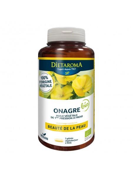 Onagre Bio - Beauté de la Peau 180 gélules  - Dietaroma