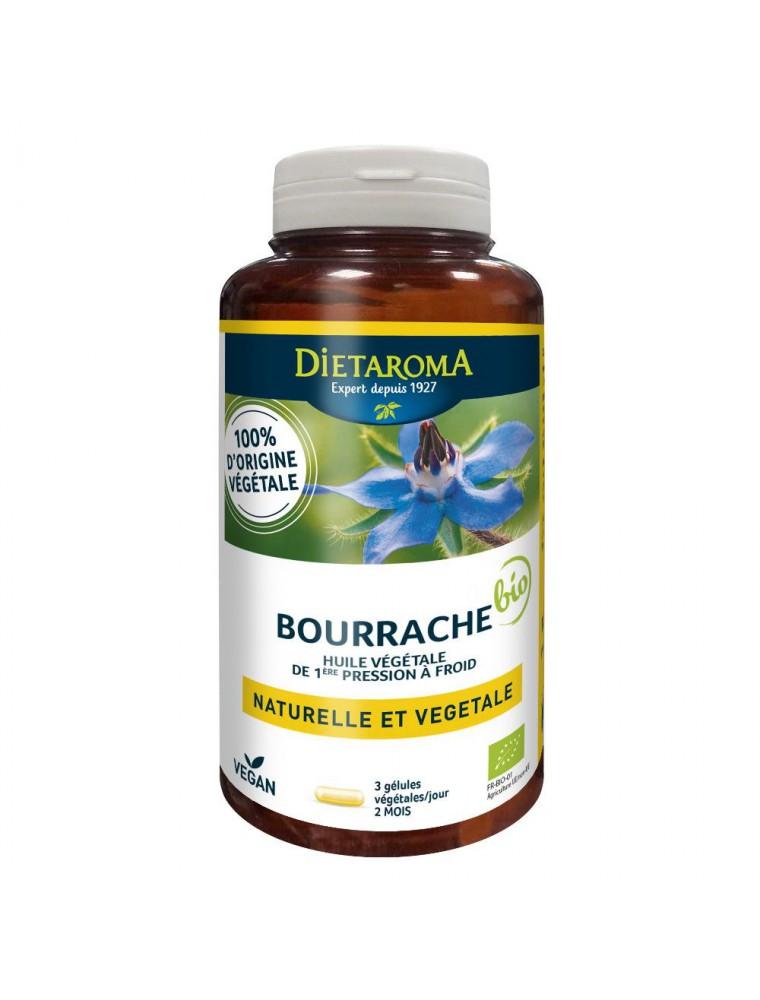 Bourrache Bio - Beauté de la Peau 180 gélules  - Dietaroma