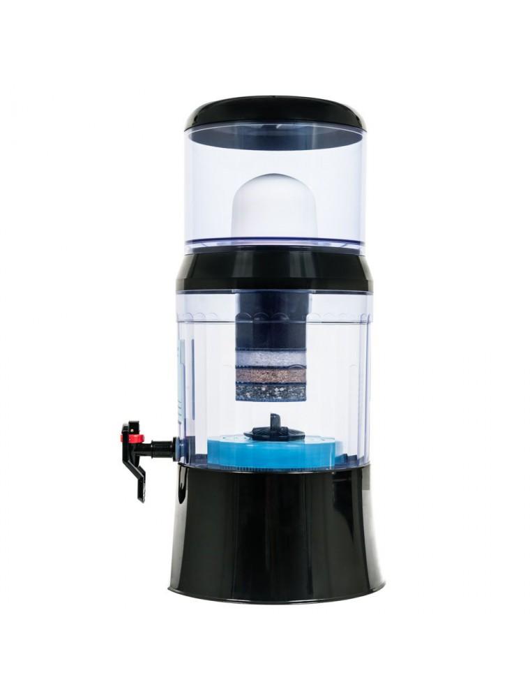 Fontaine à Eau Eva 700 BEP  Noire Avec système magnétique 7 Litres - Fontaine Eva