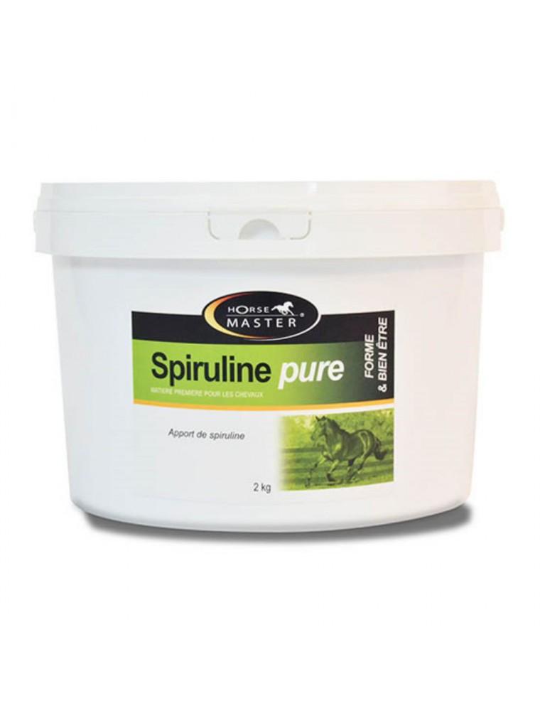Spiruline - Renforce la musculature et Soutien les Défenses Immunitaires des chevaux 2kg - Horse Master