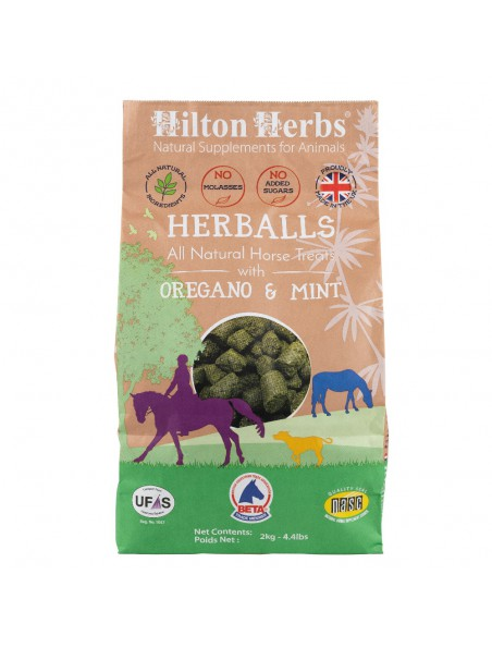 Herballs - Friandise naturelle pour chevaux 2kg - Hilton Herbs