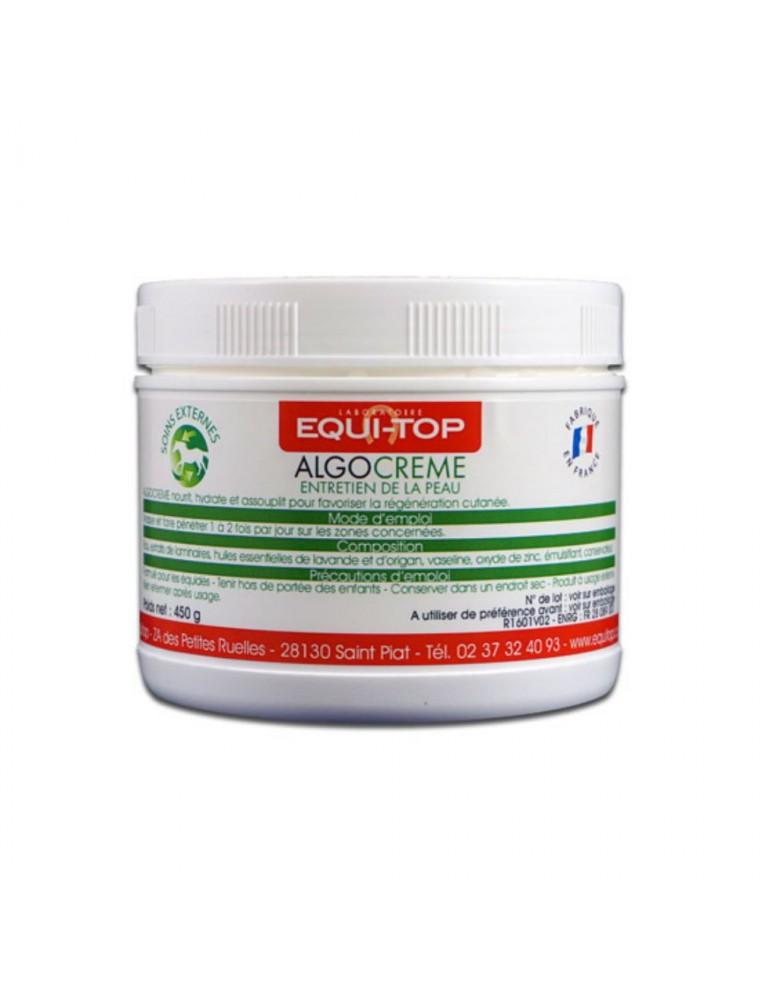 Algocreme entretien de la peau des chevaux 450g - Equi Top